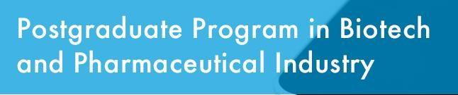 Biotech and pharmaceutical Postgraduate study